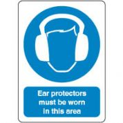 Mandatory Safety Sign - Ear Protectors 045